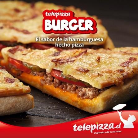 Telepizza Burger