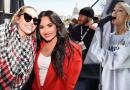 """Mira las presentaciones de Miley Cyrus, Ariana Grande y Demi Lovato para """"March For Our Lives"""""""